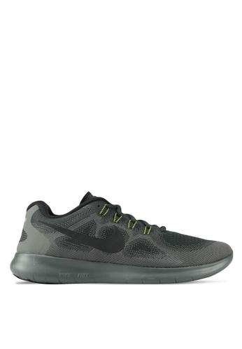 Nike black Men's Nike Free RN Running Shoes NI126SH0SFB1MY_1