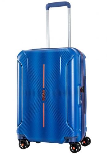 American Tourister blue American Tourister Technum Spinner 55/20 TSA 73E7CAC5FD9D1BGS_1