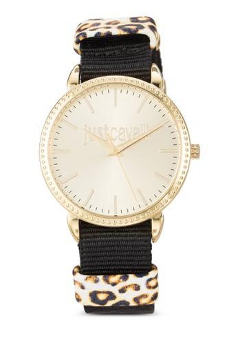 R7251528501  Just Allesprit地址-Night 布料圓錶, 錶類, 飾品配件
