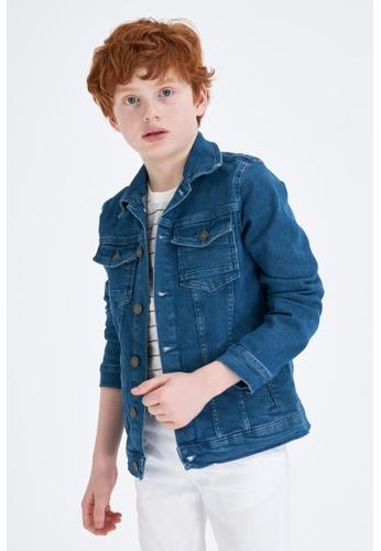 DeFacto green Boy Denim Jacket 17E65KAFC0BD6CGS_1