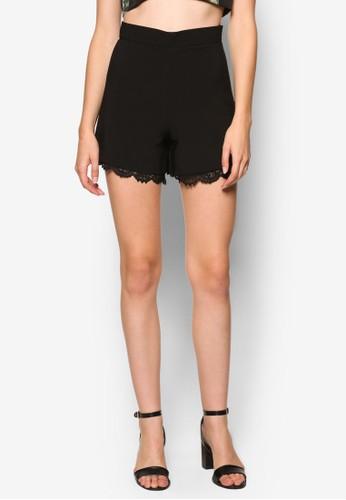 蕾絲滾邊短褲,esprit 衣服 服飾, 短褲