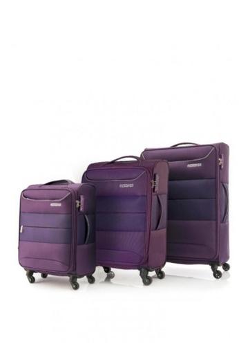 American Tourister purple Atlantis 3-PC Set 306E7AC3A56595GS_1