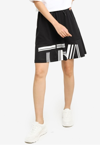 361° black Sports Life Woven Short Skirt AAC0AAA630A905GS_1