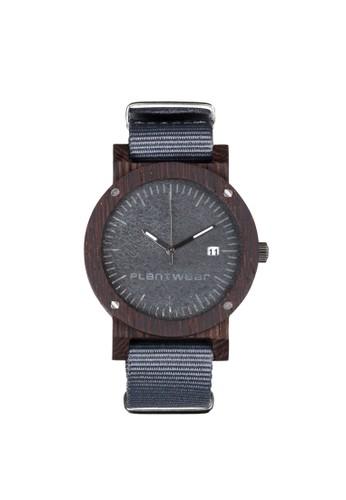 原石系列沉穩灰黑檀木錶, 錶類, 時esprit hong kong 分店尚型