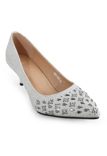 CLARETTE white Clarette Heels Kenia White CL076SH70CNPID_1