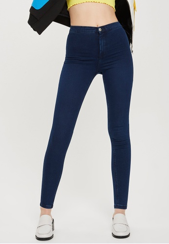 0eaa3ad0c36519 Shop TOPSHOP Indigo Joni Jeans (Short Fit) Online on ZALORA Philippines