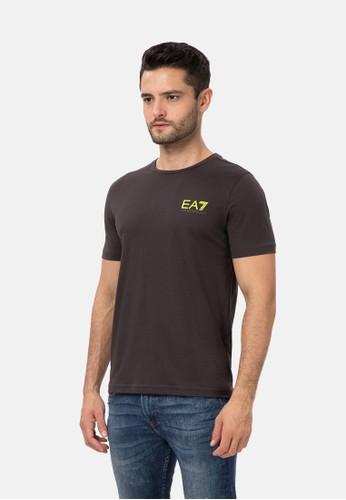 EA7 Emporio Armani brown LOGO SERIES T-SHIRT 30156AA6FCE944GS_1