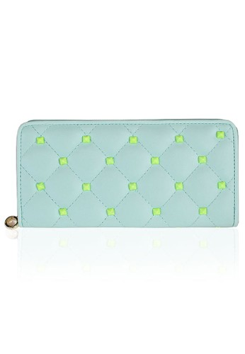 VERNYX - Woman's Emboss Wallet DO325 Green - Dompet Wanita