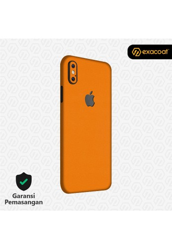 Exacoat iPhone X 3M Skins True Colors - Pumpkin Orange 346DCES16910A8GS_1