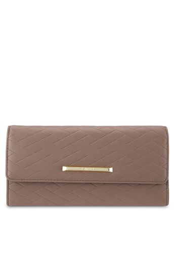 Perllini&Mel brown Faux Leather Sling Wallet PE444AC0SBNQMY_1