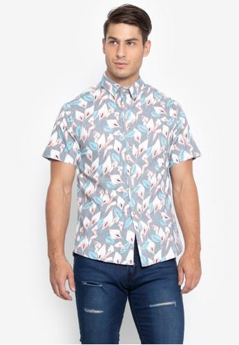 43c6f4b97b38b Shop Chase Fashion Printed Button Down Polo Shirt Online on ZALORA  Philippines