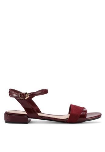 Bata 紅色 Bata Casual Sandals C9F46SH5AABAB4GS_1