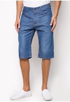 Medium Wash Soft Denim Shorts