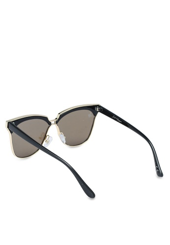7313096226 Buy Jeepers Peepers Black Purple Cat Eye Sunglasses Online on ZALORA  Singapore
