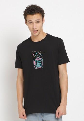 Poshboy black Poshboy Tshirt Brain Wash OF-7BP-XSB 34729AA989D255GS_1