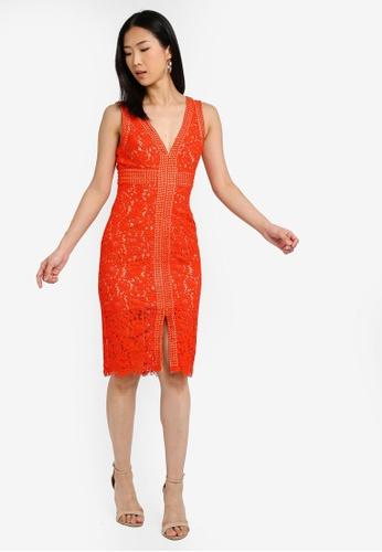 7eb81593907a Buy Bardot Halter Lace Dress Online on ZALORA Singapore