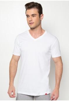 V-Neck Undershirt with Cuff