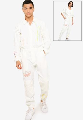 ADIDAS white love unites jumpsuit (gender neutral) E7F23AA342B73FGS_1