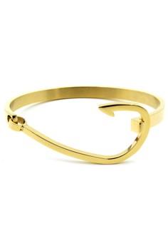 Venice Gold Hook Bracelet Bangle
