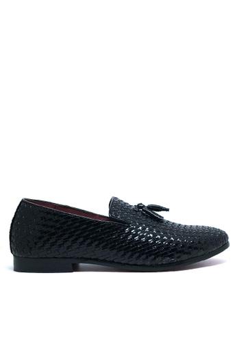 Twenty Eight Shoes 黑色 英式紳士輕便鞋MC7515 B6AAASH387D949GS_1