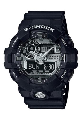 Casio black Casio G-SHOCK Jam Tangan Pria - Black - Resin - GA-710-1ADR CA347AC0WCHQID_1