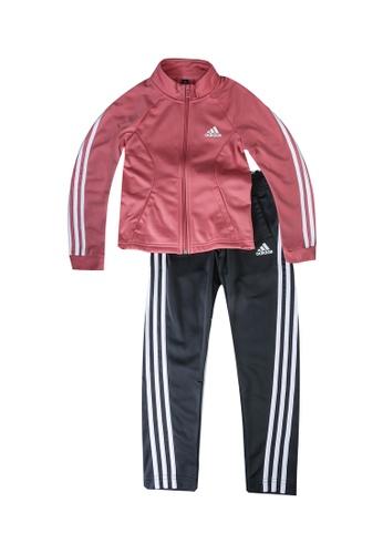 ADIDAS pink 3-stripes team primegreen track suit 24646KAAA7FC88GS_1