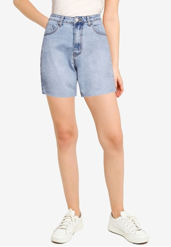 Supre blue Mariah Denim Shorts C0902AA9C578ADGS_1