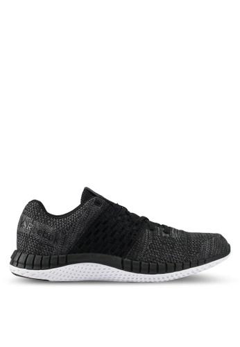 Reebok black Zprint Run Clean Ultraknit Shoes RE691SH0SHTSMY_1