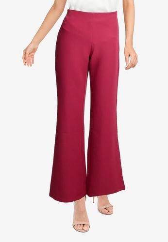ZALORA OCCASION red Tailored Pants E921DAA7F8CFCCGS_1