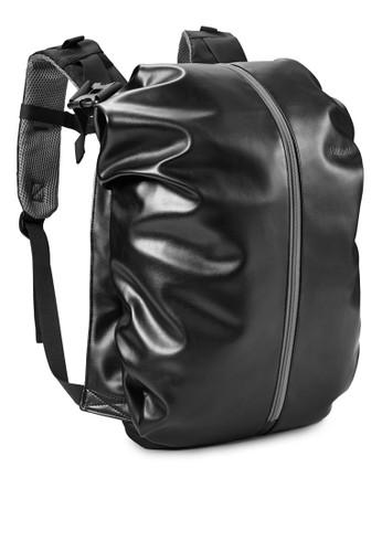 竹炭筆電後背包,zalora時尚購物網的koumi koumi 包, 電腦包