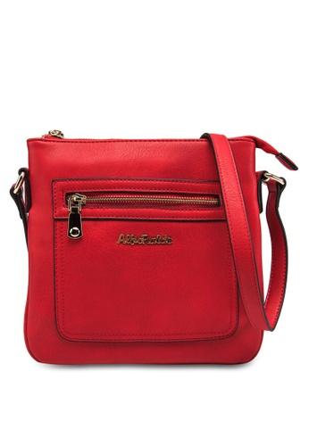 Alfio Raldo red Sling Bag AL803AC55AWEMY_1
