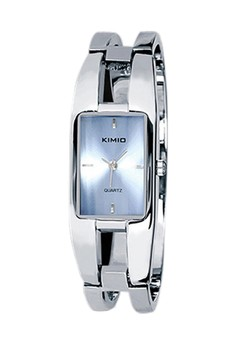 KIMIO Women's Blue Dial Silver Bracelet Wrist Watch K1601