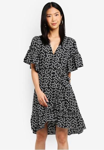Max Studio black Woven Dress 8F82DAA0FC3B0EGS_1