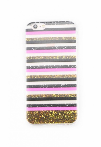 Fancy Cellphone Cases multi Stripes Soft Case for iPhone 6/6s FA644AC0IMYDPH_1