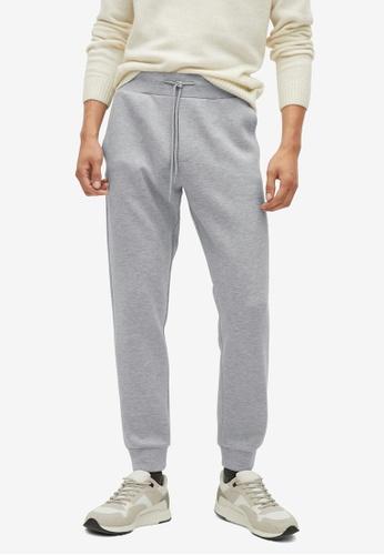 Mango Man grey Pocket Jogger Trousers 38898AAE01AC51GS_1