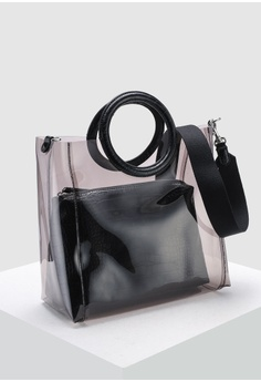 44b106bf1 40% OFF Banana Republic Transparent Tote Bag RM 374.00 NOW RM 223.92 Sizes  One Size