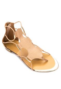 Kaila Flats Sandals