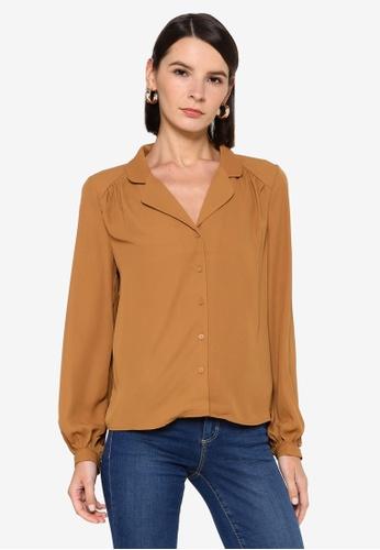 Vero Moda brown Poel Shirt A5106AAB0D6871GS_1