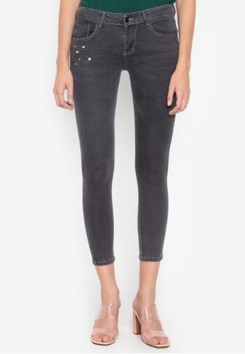 Balaynor grey Faded Skinny Jeans 47422AAFA80D15GS_1
