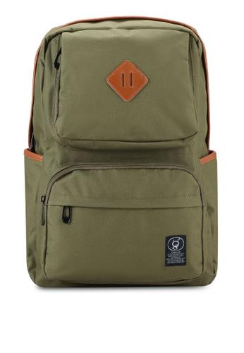Flesh IMP green Vermont Backpack FL064AC04GODMY_1