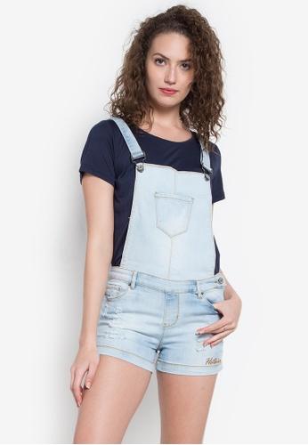 Hot Kiss blue Jumper Shorts HO592AA0K9HMPH_1
