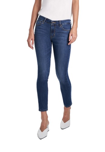 Levi's blue Levi's 711 Skinny Ankle Cool Nights (19558-0114) 4A432AA5923CDFGS_1