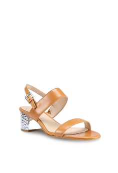9c4bab01b4d 60% OFF ALDO Brandey Sandal Heels RM 515.00 NOW RM 205.90 Sizes 6