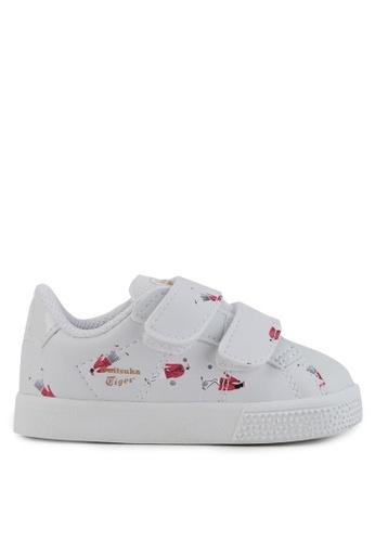 Onitsuka Tiger white Lawnship Toddler Shoes 03BD2KSBDC058DGS_1