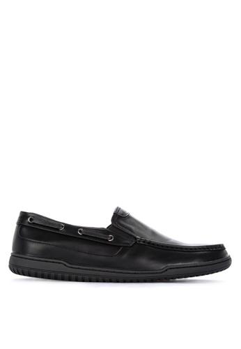 H2Ocean black Quirinal Men's Casual Slip-ons AA9D5SHF01B35DGS_1