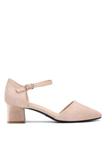 Twenty Eight Shoes 米褐色 斯文方頭小踭鞋132-1 D92ADSH42934FBGS_1