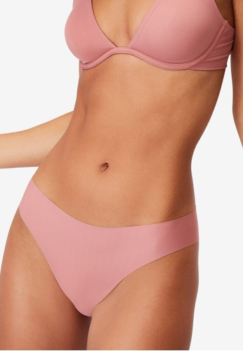Cotton On Body pink The Invisible High Cut Brasiliano Briefs 4819EUSE9D1098GS_1