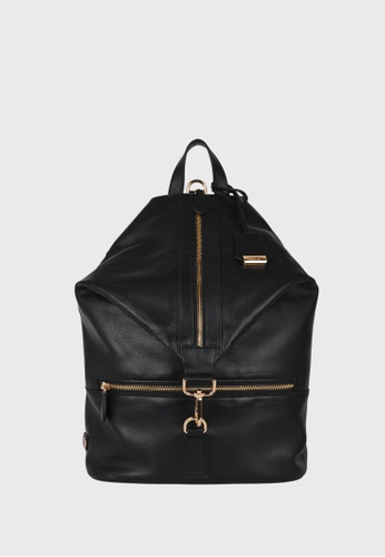 Tocco Toscano black Ambriel Diamond Top Backpack (Black) TO281AC0F2YOSG_1