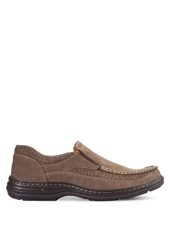 Louis Cuppers brown Louis Cuppers Slip Ons LO977SH09VOKMY_1