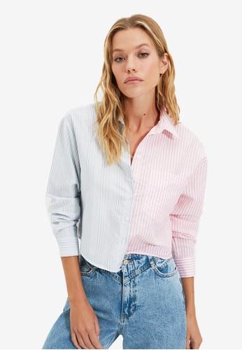 Trendyol pink Pink Shirt 7EE84AAB38188FGS_1